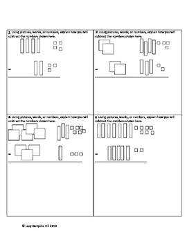 Adding and Subtracting with Base Ten Blocks #3