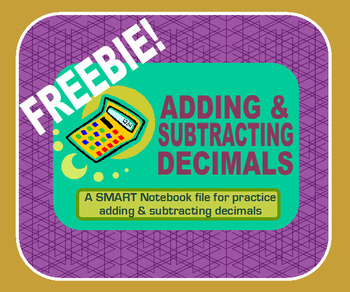 Adding and Subtracting with Decimals