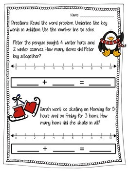 Adding and Subtracting with Number Lines
