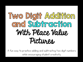 Adding and Subtracting with Pictures Freebie