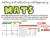 Adding and Subtracting with Regrouping Mats