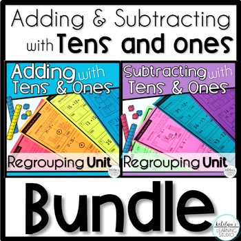 Adding and Subtracting with Tens and Ones Units Bundle