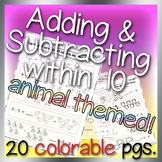 Adding and Subtracting within 10- Mega Pack Bundle