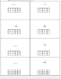 Adding and Subtracting within 10 using ten frames