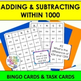 Adding and Subtracting within 1000 Bingo