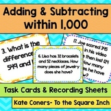 Adding and Subtracting Task Cards