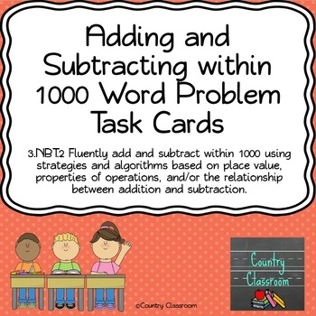 #tptsouth Adding and Subtracting within 1000  Word Problem