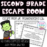 Adding and Subtracting within 20 Escape Room Activity- Second Grade