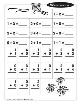 Adding and Subtracting within 5 (CCSS K.OA.A.5)