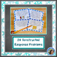 Fractions Word Problems: Winter Theme (Add/Subtract Fractions)