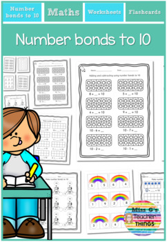 Adding and subtracting using number bonds to 10