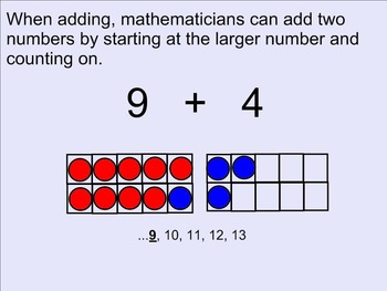 Adding by Counting On
