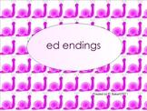 Adding ed Smartboard Lesson
