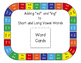 Adding ed & ing to Long and Short Vowel Words {Game & Work