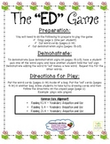 """Adding """"ed"""" to Words Game - Aligned with Common Core Standards"""