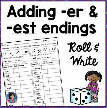 Adding -er and -est endings