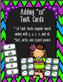 """Adding """"es"""" Task Cards"""