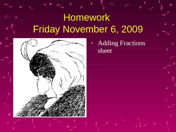 Adding fractions powerpoint