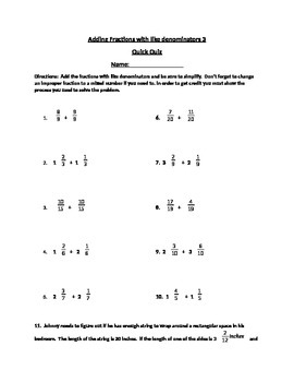 Adding fractions with like denominators 3