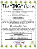 """Adding """"ing"""" to Words Literacy Center Game - Aligned with"""