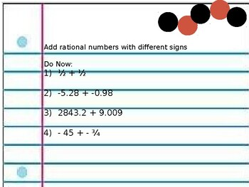 Adding integers (same and different sign)