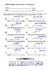 Adding integers using arrows in a numberline fun discovery activity worksheet