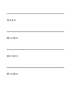 Adding numbers on a number line - Lower ability