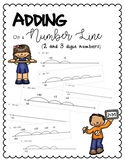 Adding on a Number Line (2 and 3 Digit numbers)