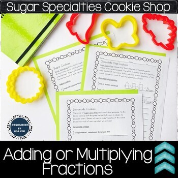 Adding or Multiplying fractions performance task activity