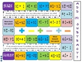 Adding or Subtracting Board Game: Mixed Numbers and Fractions