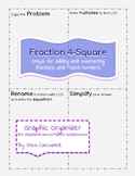 Adding or Subtracting Fractions Graphic Organizer/ Notebook