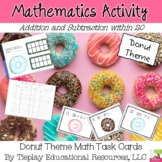 Count the Donuts Adding or Subtracting Math to 20