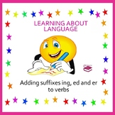 Adding suffixes er, ing and er to verbs