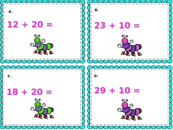 Adding tens to a two digit number Common Core Aligned