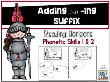 Adding the -ING Suffix