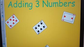 Adding three numbers