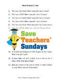 Adding time lesson plans, worksheets and more