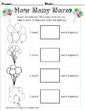 Adding to 10! Balloons Fun!