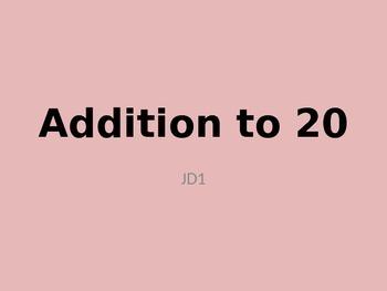 Adding to 20