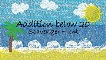 Adding to 20 Scavenger Hunt