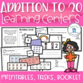 Addition to 20 Printables and Activities