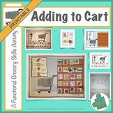 Adding to Cart: Functional Living Grocery Skills Printable