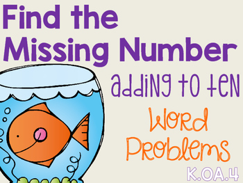 Find the Missing Number, Adding to Ten