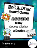 Adding to my Snow Globe Collection - Roll & Draw Adding Game