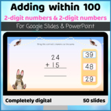 Adding two digit numbers Column No carrying regrouping Goo
