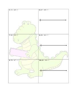 Adding up Strategy Worksheet