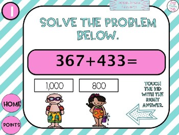 Adding up to 1,000 powerpoint game