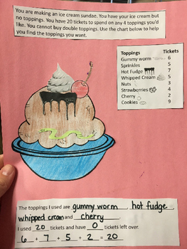 Adding up to 20- ice cream craft!