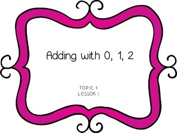 Adding with 0, 1, and 2 - First Grade enVision Math