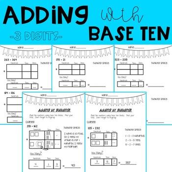 Adding with Base Ten Blocks